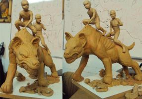 Children of Africa wip5 by renatothally