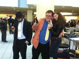 Ohayocon 2012: Lupin Gang by BigAl2k6