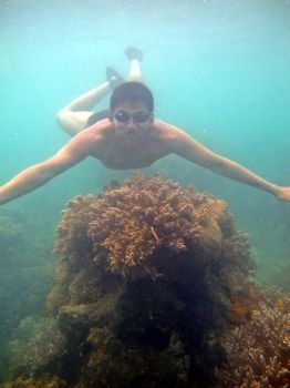 free diving at morotae,indonesia by oden0001