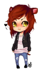 Chibi Hamsterpie by Donnis