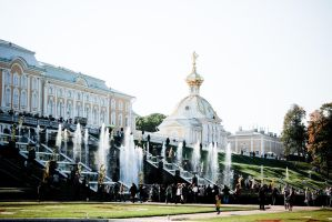 In Peterhof by shytiha