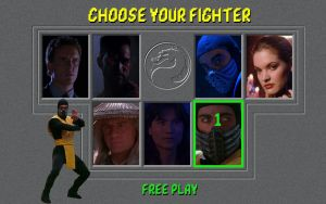 Mortal Kombat Movie Edition by molim