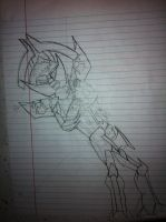 Mercenary in Transformers By me by CJthehedgehog122
