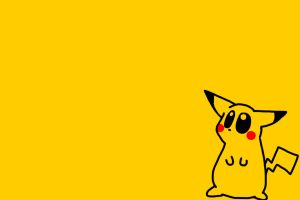 Pikachu Desktop by LittleGreenHat