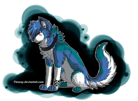 AT- Darker blue by Flemaly