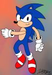 Sonic the Hedgehog by iamthemanwithglasses