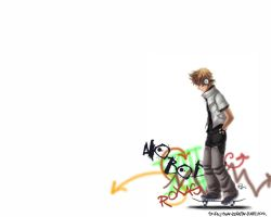 KH2- Roxas by snow-chan