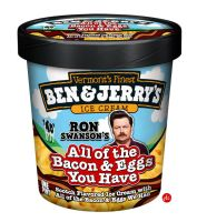 Ron Swanson Ice Cream by Jonnyetc