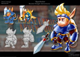 Sparkster Concept by sterna