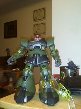 Master Grade MS-09 Dom 30'th Anniversry Edition by saberclaw1x