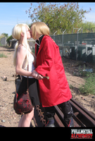 Ed and Winry: Kiss Good Bye by RamblinGinger