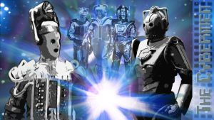 The Cybermen Wallpaper by DoctorWhoIV