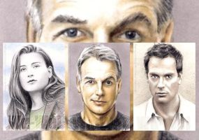 NCIS sketchcards by whu-wei
