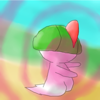 Ralts used calm mind by Pesusa
