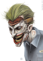The Joker by Necrobaph