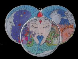 Satan - vitrail version by toroj