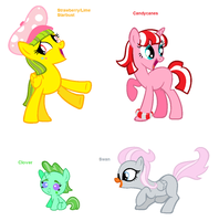 Themed Adoptables 89-92 by BronyBase