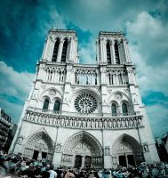 Cathedrale Notre-Dame de Paris by milanko