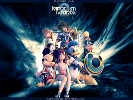 Kingdom Hearts 2 by Pl4tiNuM