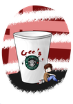 gee's coffee by Livawhatever
