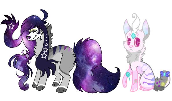 Galaxy theme adopts CLOSED by CyanCylinder