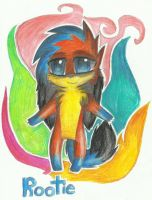 art trade with ROOTIEandFUNN by RedNoctali