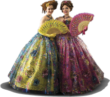 Sophie and Holliday as Anastasia and Drisella PNG by nickelbackloverxoxox