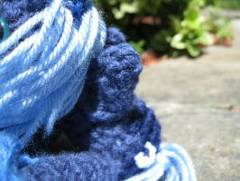 Mini Princess Luna Plushie Amigurumi Detail 2 by RTakeshi