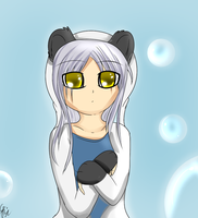 Panda Kanade by FKandFriends