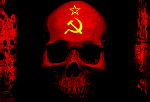 Cold War-Era Skull by MrAngryDog