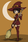 Lil Witch by MachiavellianMaiden
