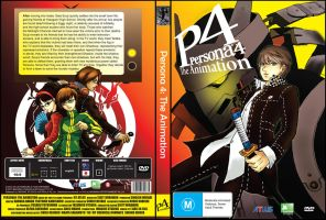Persona 4 DVD Cover by Ruby3ye5