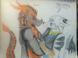 Atlas: sirena...please....let me..... by Dooma-wolfsvain