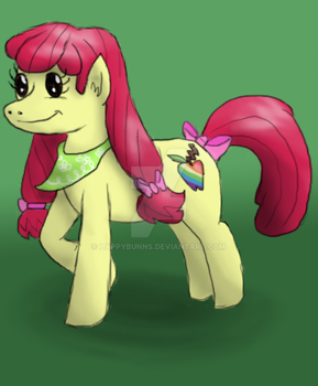 Teenage Apple Bloom Daily Character Challenge #6 by Happybunns