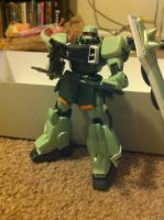 Zaku Warrior Kit 4 by DarthDizzle