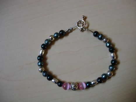 Bead Play Pink Rose by patchpuss