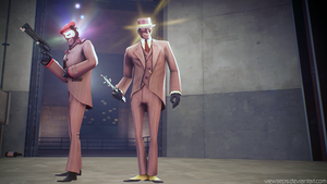 Team Fortress 2 (TF2) - Spies by ViewSEPS
