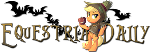 Equestria Daily AJ Day Banner by Left2Fail