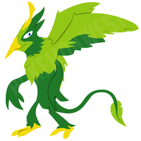 Griphyll by pokemonwest
