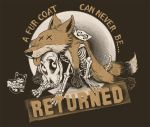 Fur Coat can Never be Returned by heckthor