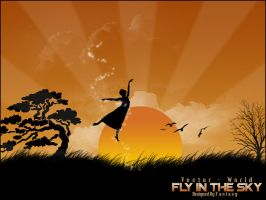 Fly In The Sky by FantasyPs