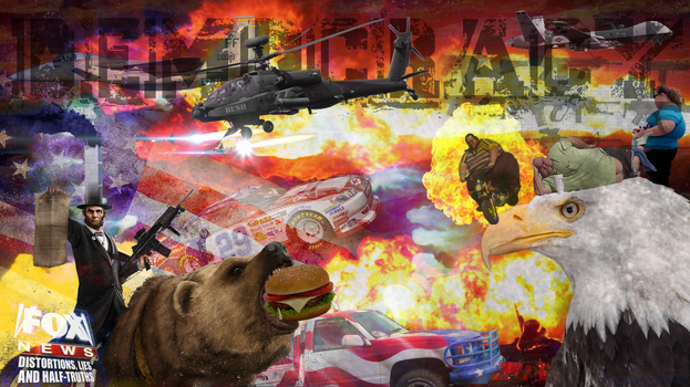 Most American Wallpaper Ever by TheModerator