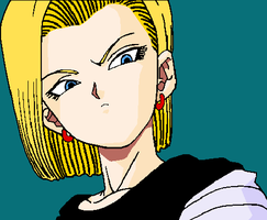 Android 18 by Jarcuto