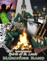 Marching Band Poster by Kitsoa