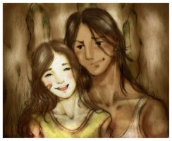Jacob and Bella - Memories by alizarin