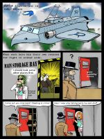 Heroes on plane 1 by bunny75