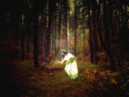 Forest lady by MASYON