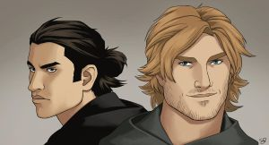 Royce and Hadrian by Sarctic