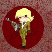 1930's Seras Victoria gangster by hiddentalent1