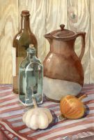 Still life-exercise by LenaAkhumova
